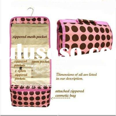 Hanging Travel Makeup bag Toiletry bag