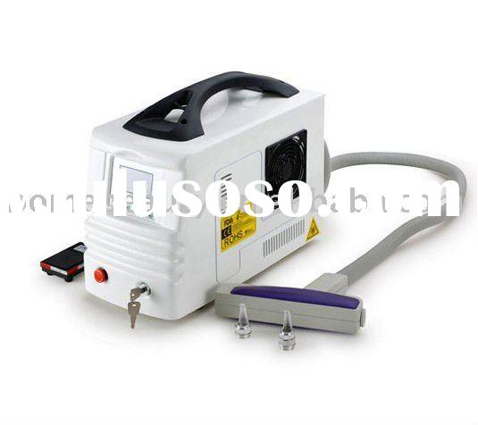 Hot Nevus and tattoo removal laser equipment