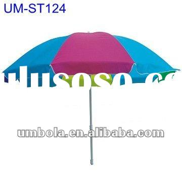 Hot Sell High Quality Beach Umbrellas With Tilt And Fiberglass Ribs