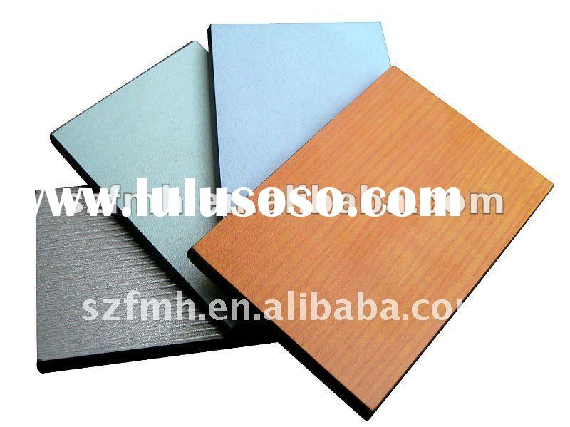 Hpl Fireproof wood grain cabinet laminate sheets 85