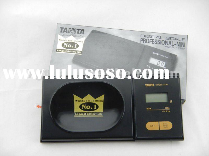 Mini gold scale electronic jewelry scale