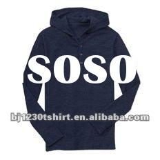 New hoodie style top quality cotton t-shirt with OEM service 073