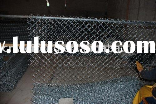 Pvc coated used chain link fence for sale