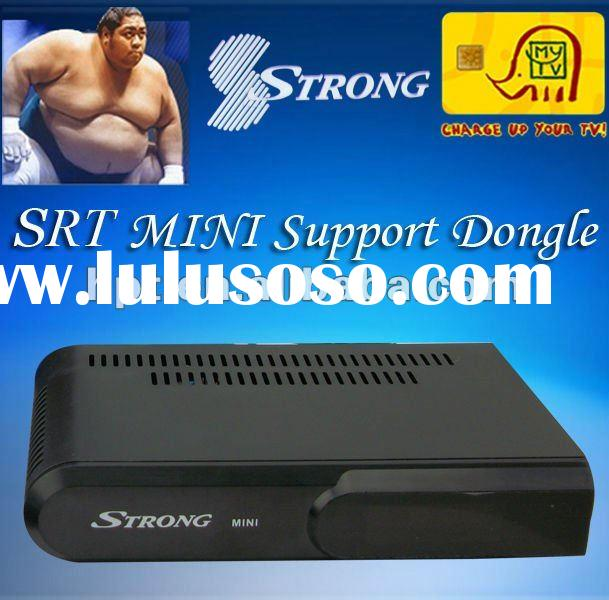 Receptor satellite digital Mini strong digital set top box used for Africa Market