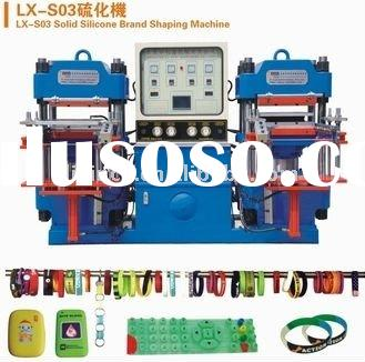 Silicone Brand Shaping Machine for energy bracelet