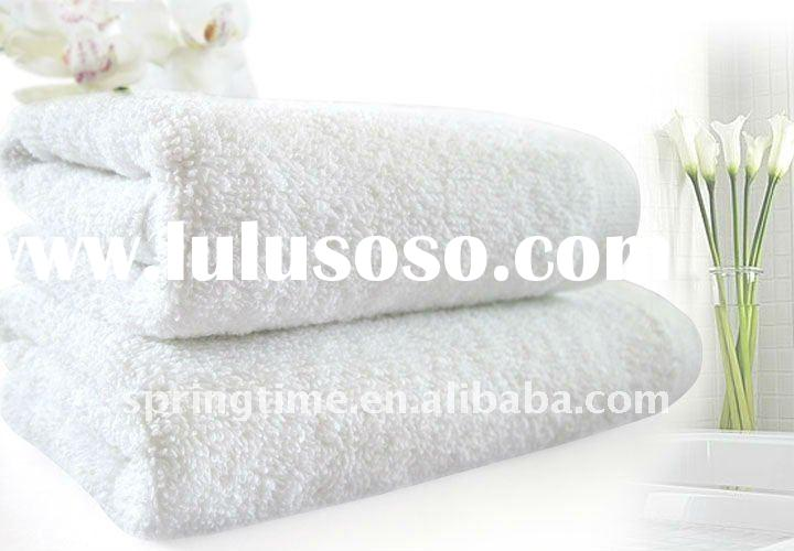 Soft hand feel 100% cotton hotel bath towel