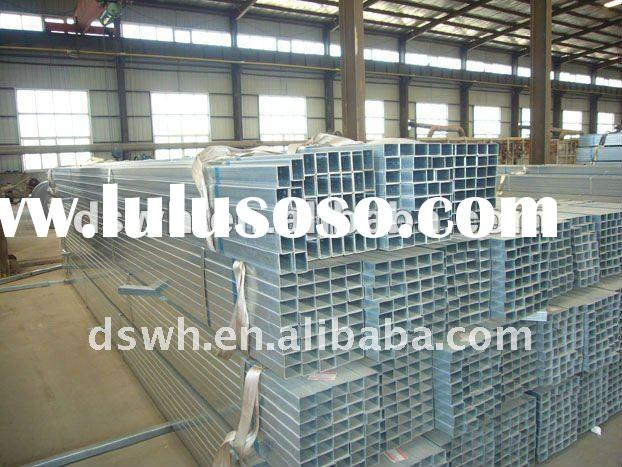 Square Galvanised Steel Tube Price Per Ton 700 USD To 850 USD