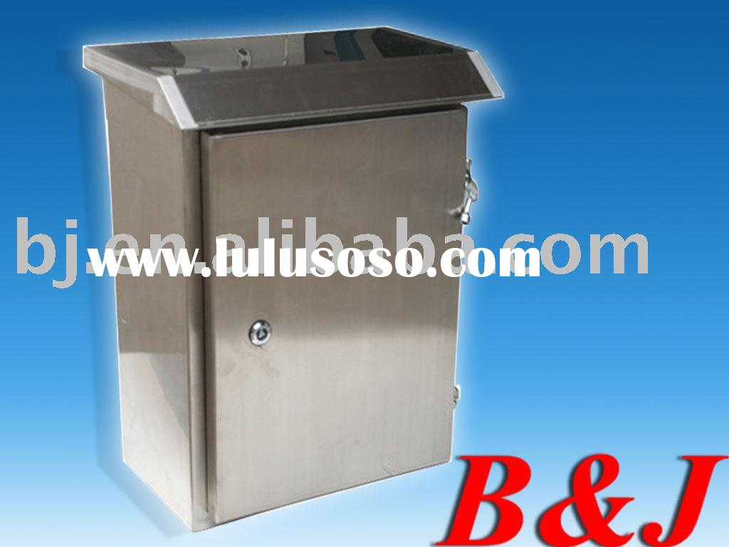 Stainless Steel distribution box IP55 .