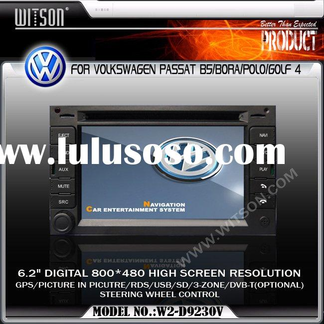 WITSON Special Car DVD Player With GPS For VOLKSWAGEN PASSAT B5/BORA/POLO/GULF 4 CAR Video