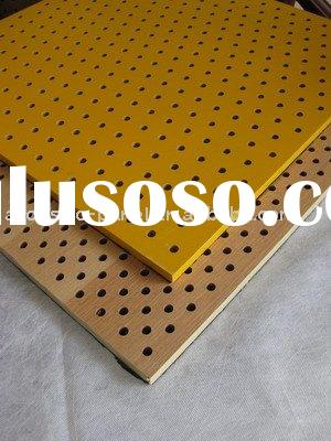 Wooden Perforated Acoustic Panel 011