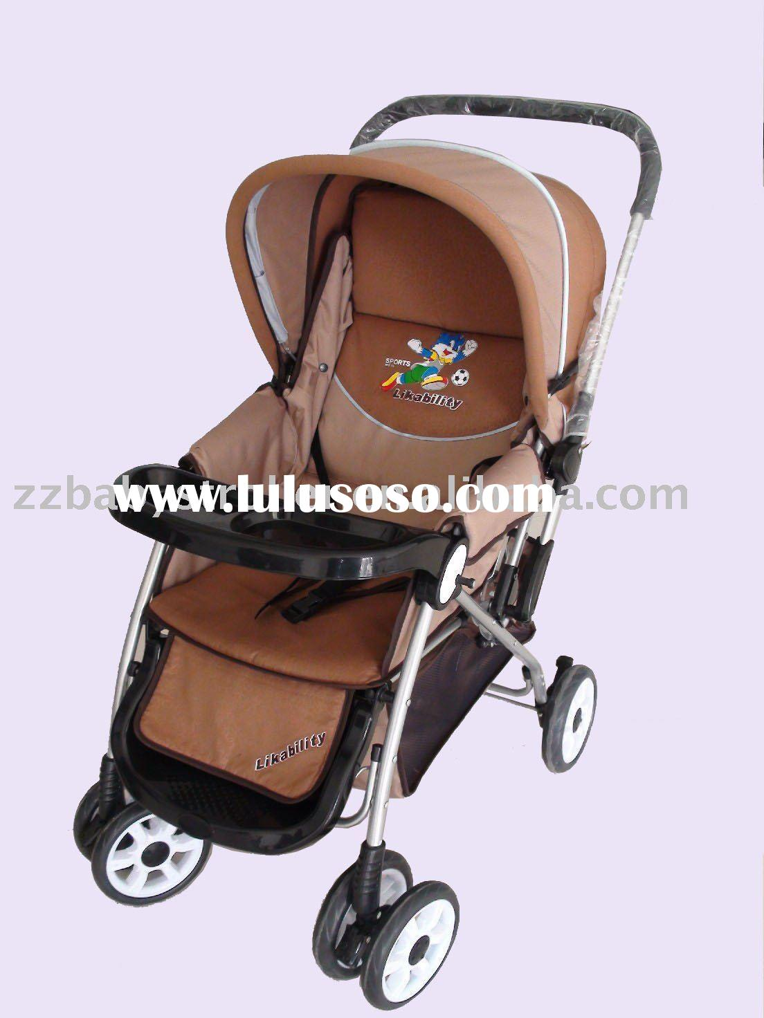 doll stroller with reversible handle