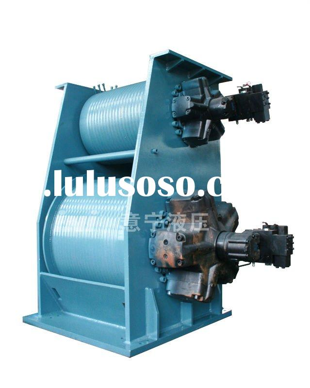 double drum hydraulic winch for ship crane