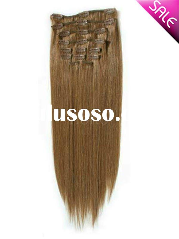 Clip In Human Hair Extensions Cheap 82