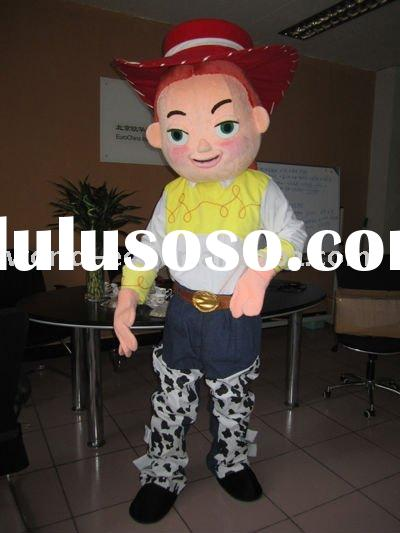 latest jessie mascot costumes, jessie cartoon costumes, jessie costumes