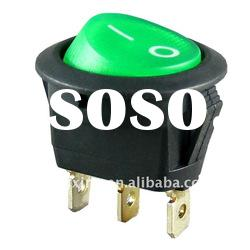 mini round rocker switch