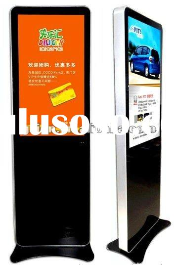 pop display monitor,55inch touch screen kiosk lcd advertising player