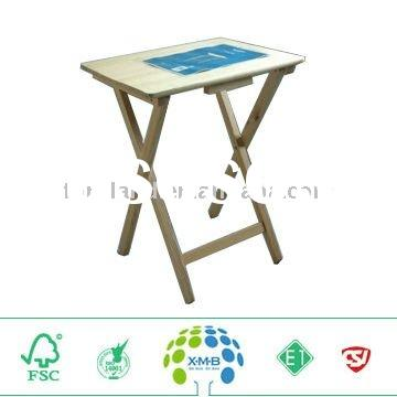 portable folding table, new design wooden folding table
