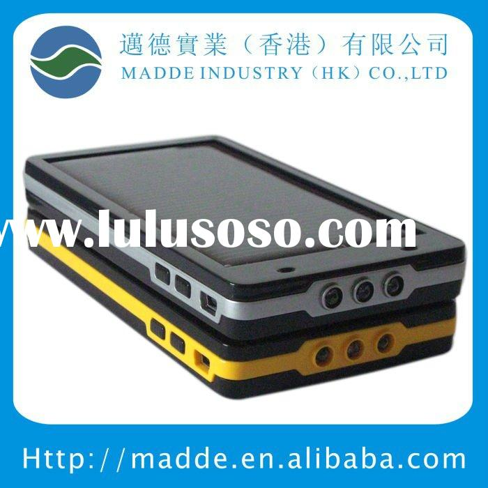 portable lithium ion battery charger with solar pannel