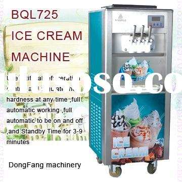 soft serve ice cream maker BQL725 ice cream makers