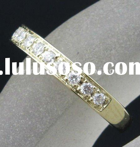 0.25ct! SOLID 14k YELLOW GOLD NATURAL DIAMOND ENGAGEMENT WEDDING BAND RING SETTINGS
