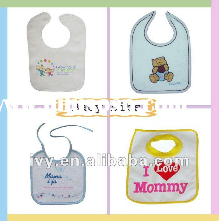100%cotton Terry Fabric Baby Bib Set