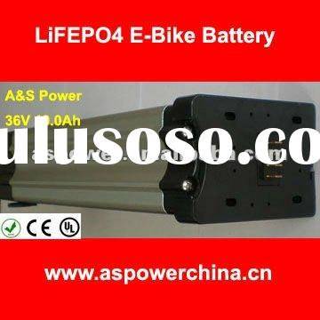10Ah electric bike li-ion battery with voltage of 36V for electric bicycle