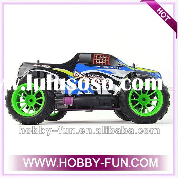 1/10 Scale Gas Powered 4WD Off-Road Nitro Radio Control Truck RC Hobby Cars