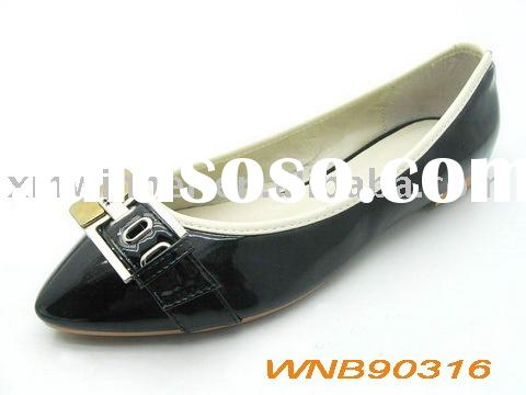 2010 newest flat heel fashion lady casual shoes