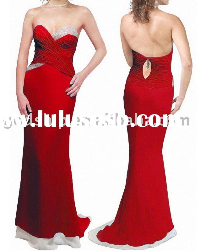 2011 Newest Evening Ball Gowns Red Carpet Dresses
