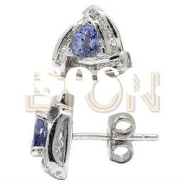 2011 fashion jewelry silver 925 sterling jewerly earring---Earring Of E6605