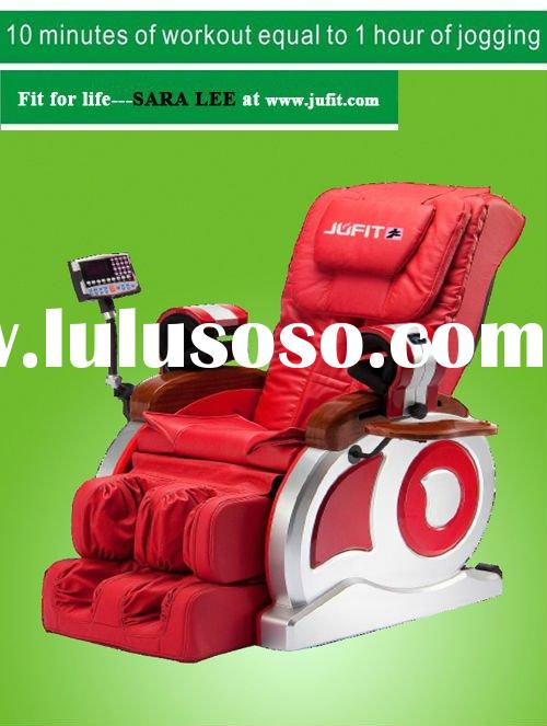 2012 3D Luxury Inversion and zero gravity massage chair with Feet extension and music synchronous