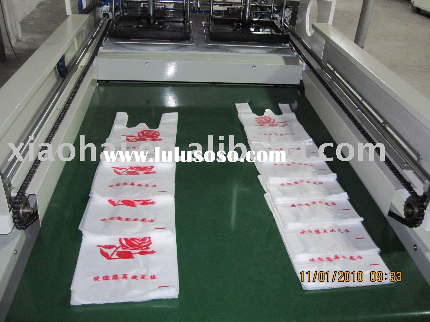 2012 Automatic shopping bag making machine