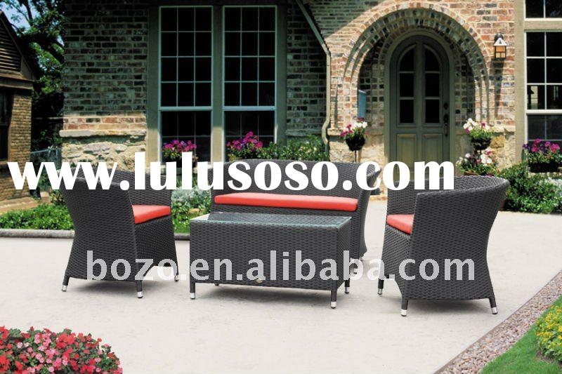 2012 Hot sale elegant rattan outdoor furniture with coffee table BZ-SF002