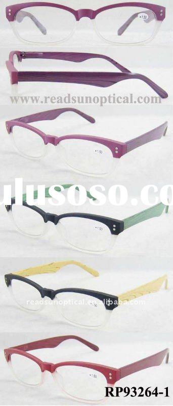 2012 New Design Wood Eyewear for Reading Glasses with CE and FDA (RP93264-1)