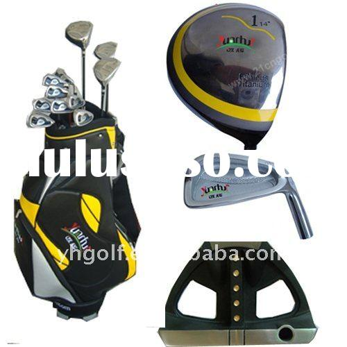 2012 new hot sale complete golf club set high quality low price