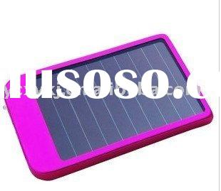 2600mah amorphous portable Solar charger,solar power mobile phone charger for MP3, MP4, mobile phone