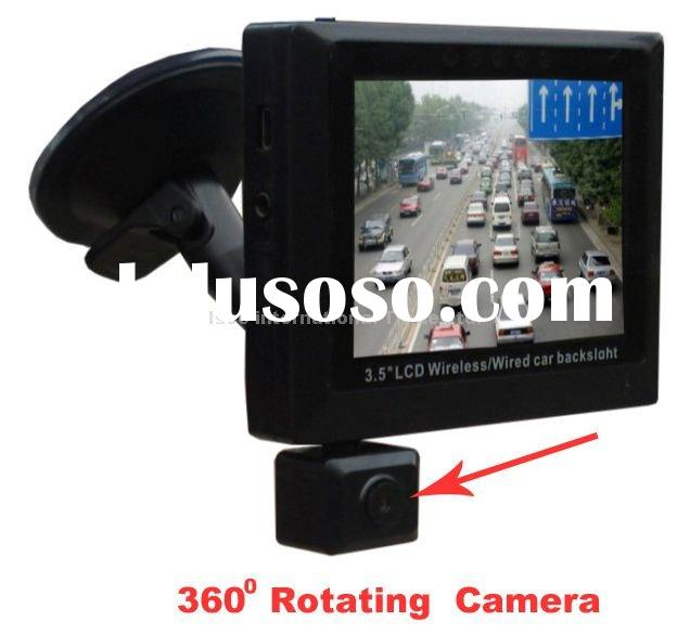 3.5-inch TFT Screen Vehicle Data Recorder, Car Black Box with Manual and Automatic Detection