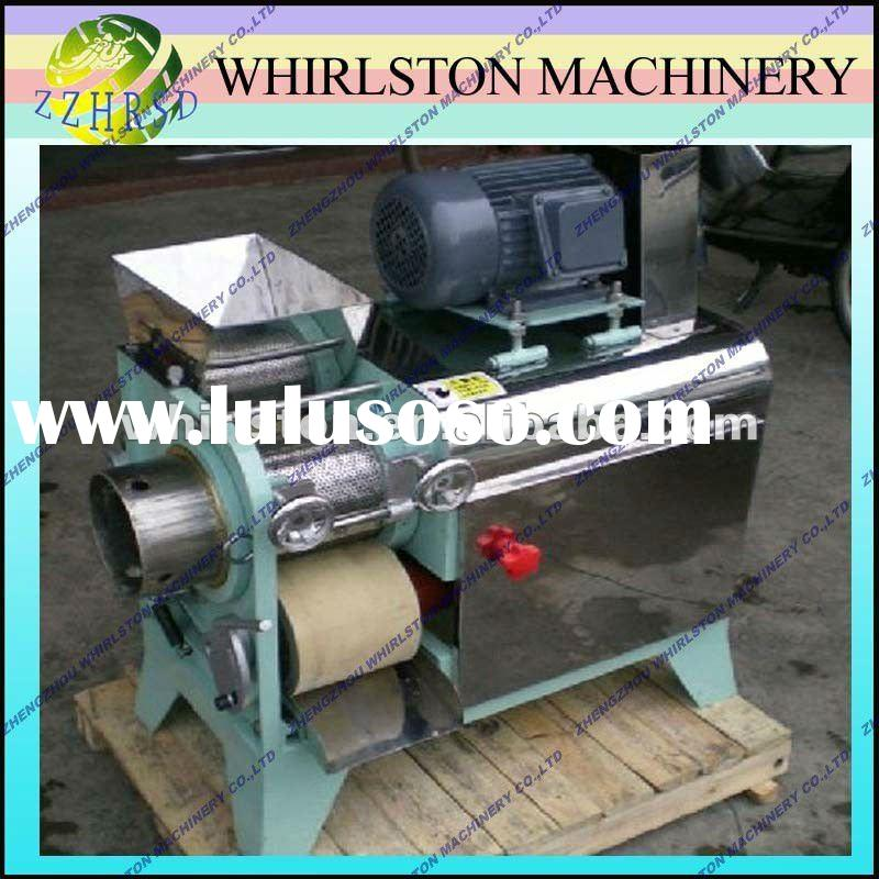768 stainless steel automatic fish meat and bone separator /+86 15093305912