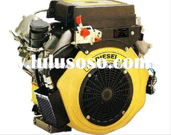 800cc air cooled v twin cylinder diesel engine 15hp