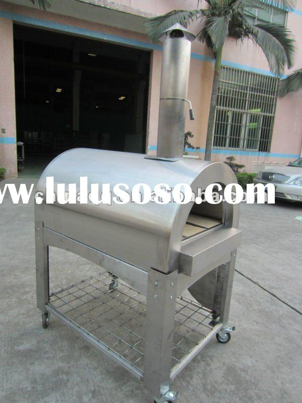 All Stainless Steel Hot Sale Wood Fired Pizza Oven