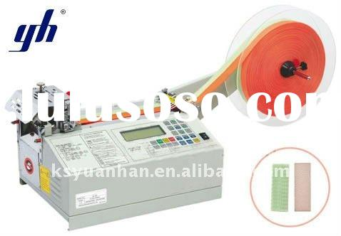 Auto label cutting machine /Automatic tape/ribbon/velcro cutting machine JM-120L