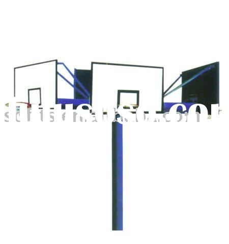 Basketball Equipment 4 Direction Fixed Basketball System Cross Basketball Stand Basketball Shelf Bas