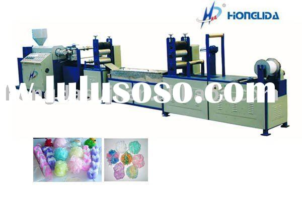 Bath Net Sponge Making Machine