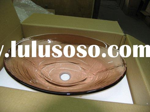 Bathroom Bowl Sinks on Glass Vessel Bathroom Sink  Glass Vessel Bathroom Sink Manufacturers