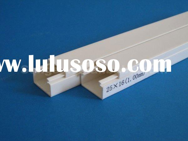 Building construction material new research of pvc trunking