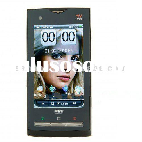 CellPhone X10 with wifi TV GPS Dual SIM cards Thin Quadband