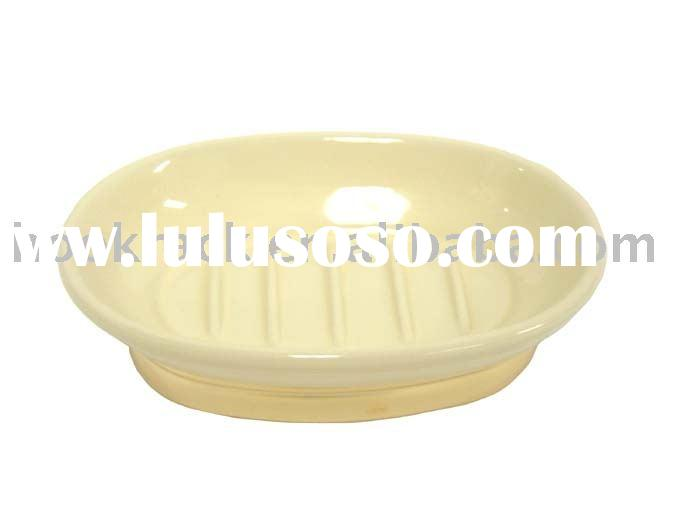 Ceramic Bath Set:Soap Dish