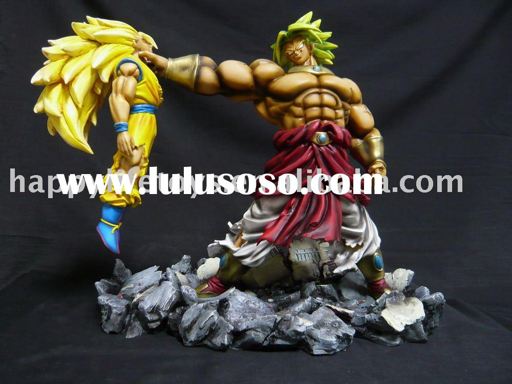 "Collectible Dragonball z 13.4"" Broly VS Goku resin statue"