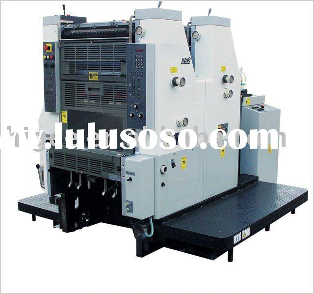Color King DH252 Two-color Offset Printing Machine-high quality printing