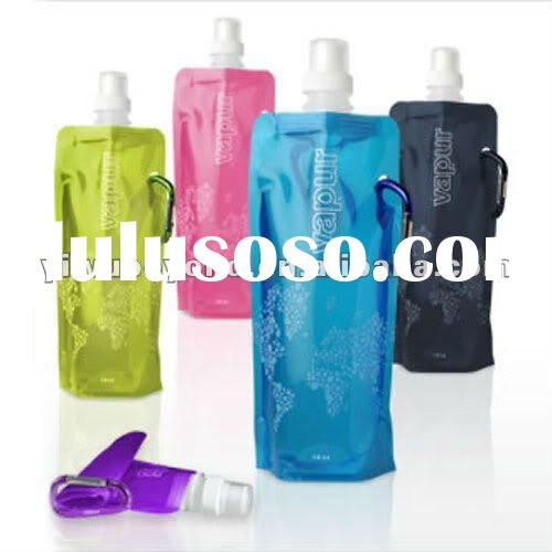 Customize Logo Foldable Water Bottles-BPA Free